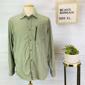 Berghaus Vented Shirt Green Plaid XL
